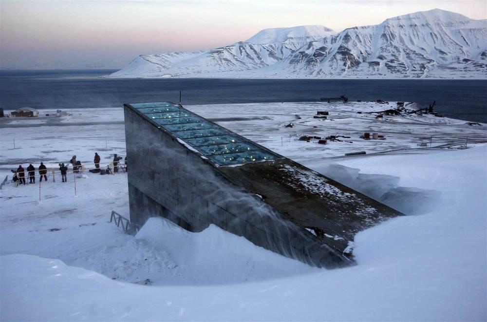 Silo Global de Sementes de Svalbard.