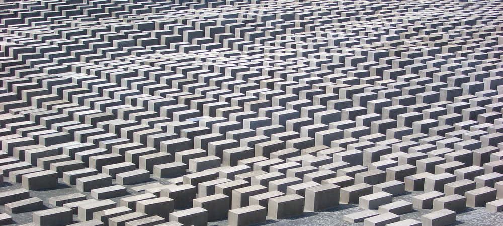 Memorial do Holocausto, projetado por Peter EIsenman.