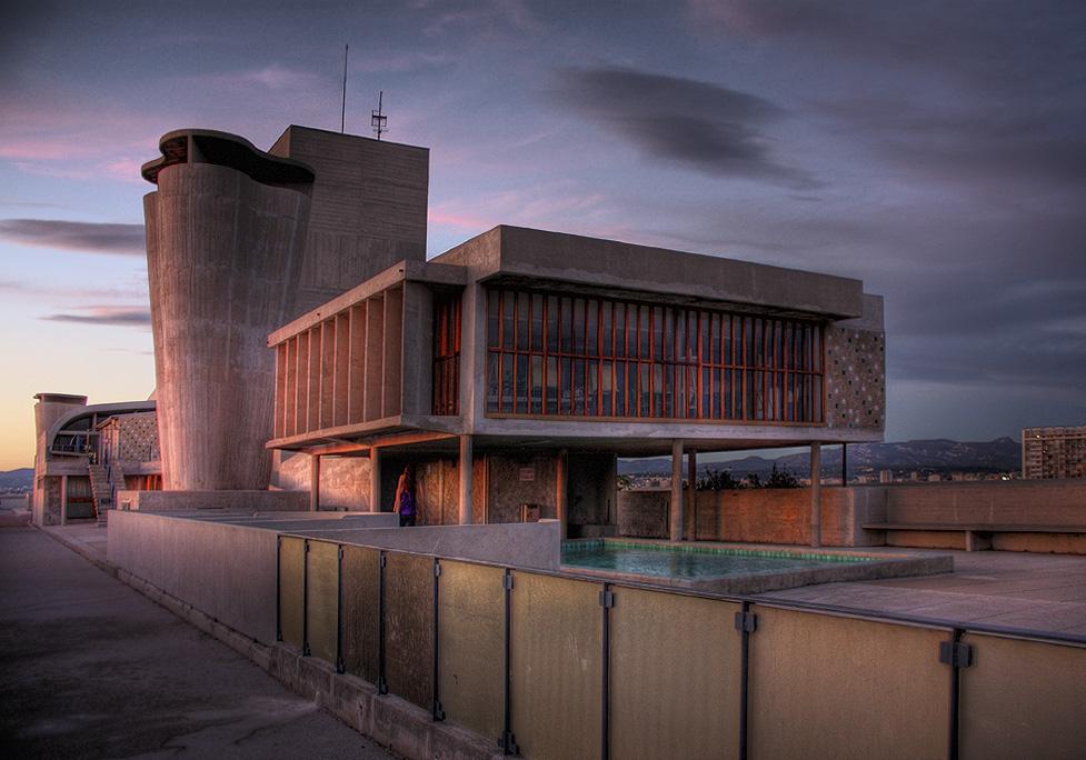 Unité d'Habitación, projeto de Le Corbusier.