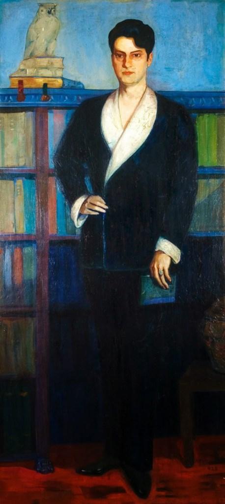 Retrato de Rodolfo Jozetti. Cândido Portinari, 1962.