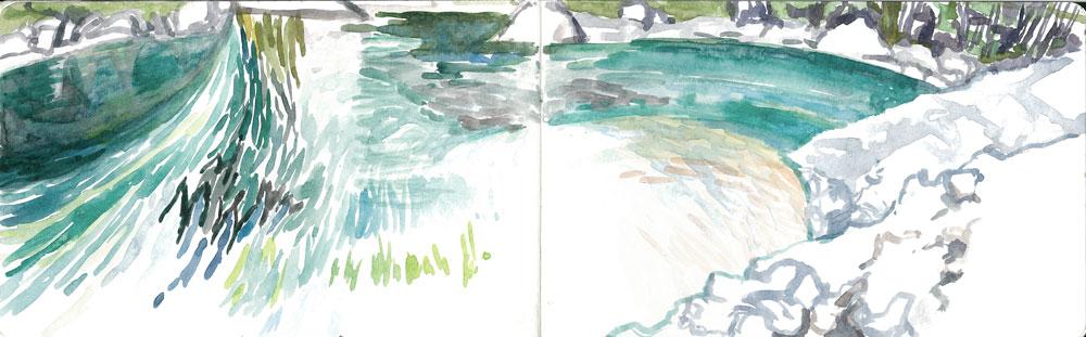 Blue Lake, Upper Sabine