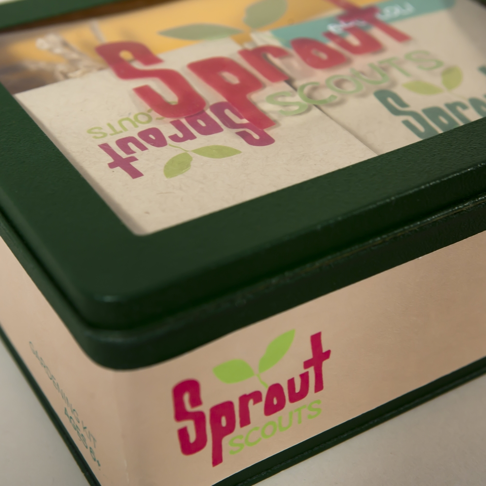 Sprout Scouts - Product & Package Design