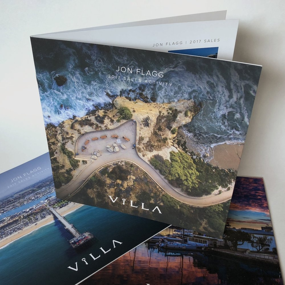 Villa Property Collateral - Print Design