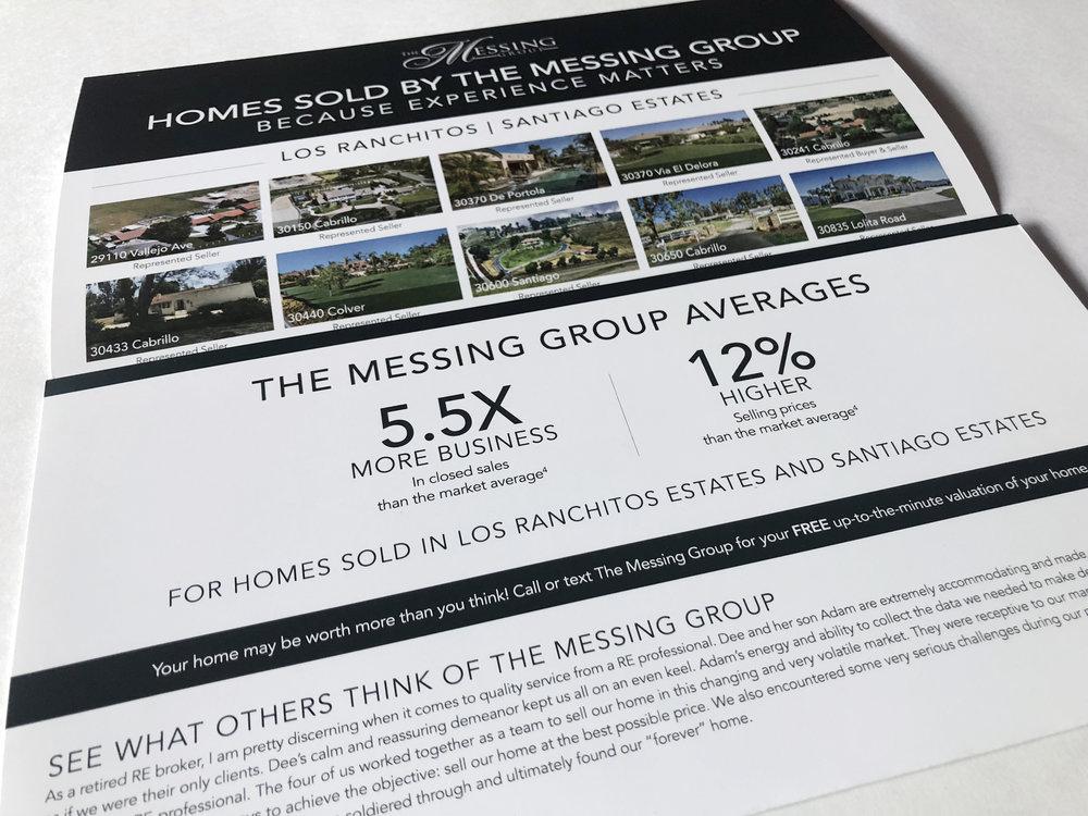 Sales Activity Tri-fold Brochure