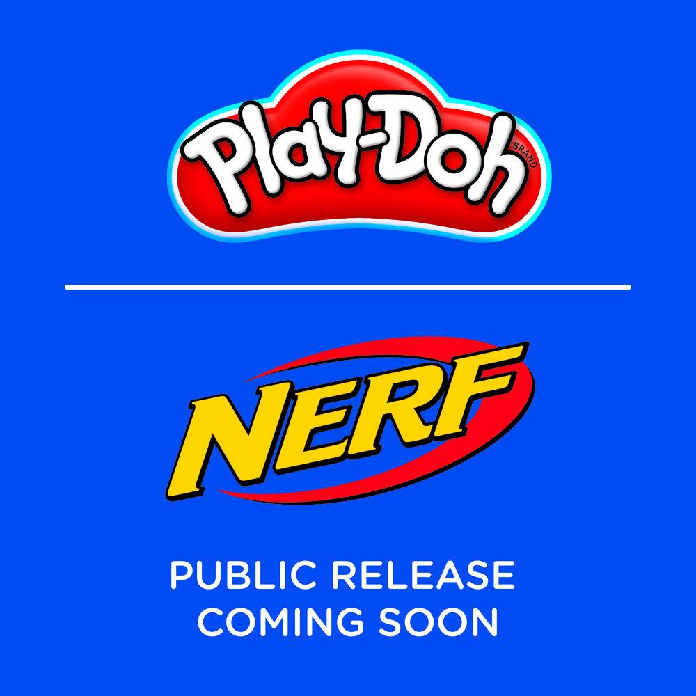 Play-Doh & Nerf - Brand & Merchandise Design