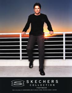 Rob Lowe's original Skechers Campaign