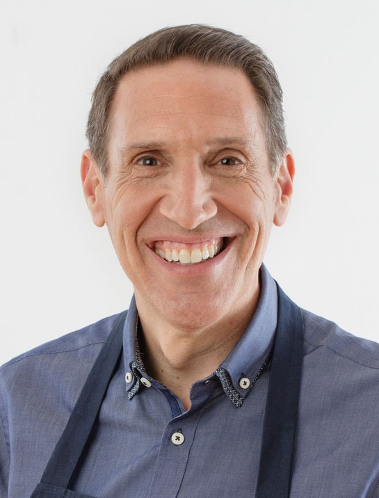 Jack Bishop - Celebrity chef. Food author. With America's Test Kitchen from the very beginning, over two decades. ATK's taste test specialist. Known for his polenta and salad. (Tasting Italy: A Culinary Journey)