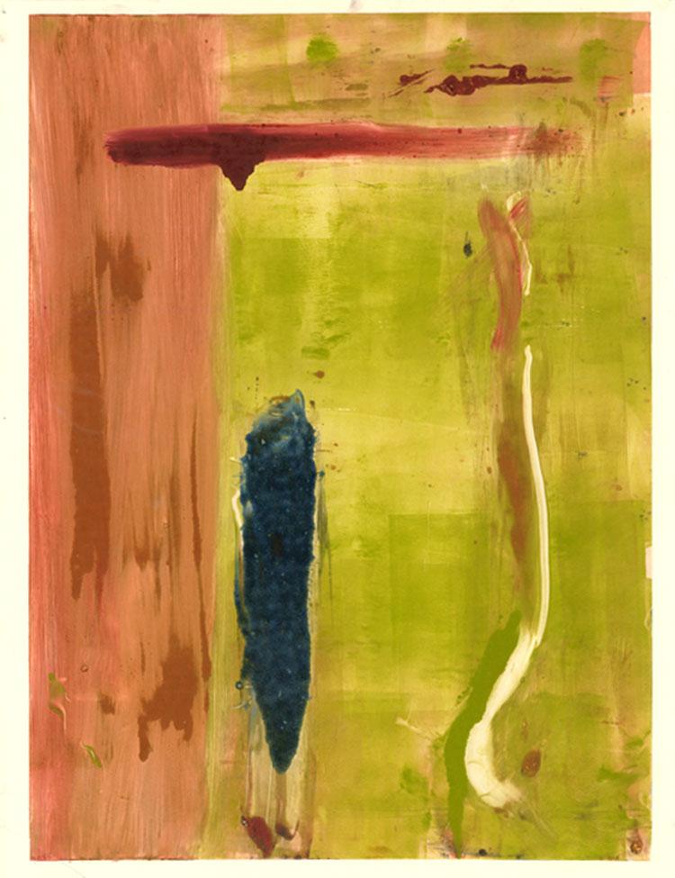 Untitled, monoprint, 1991