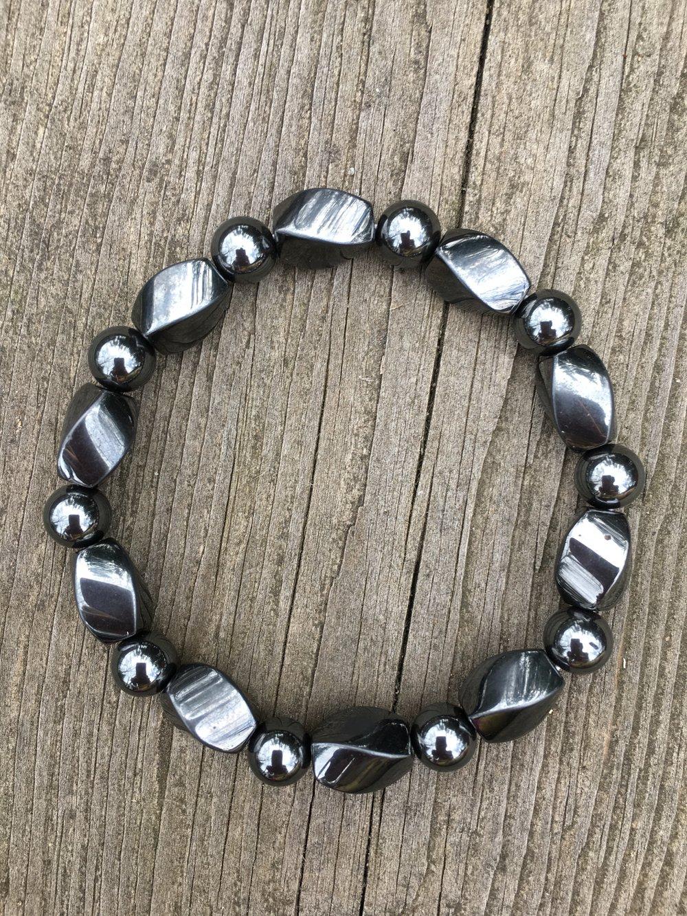 hematite bracelet  $65