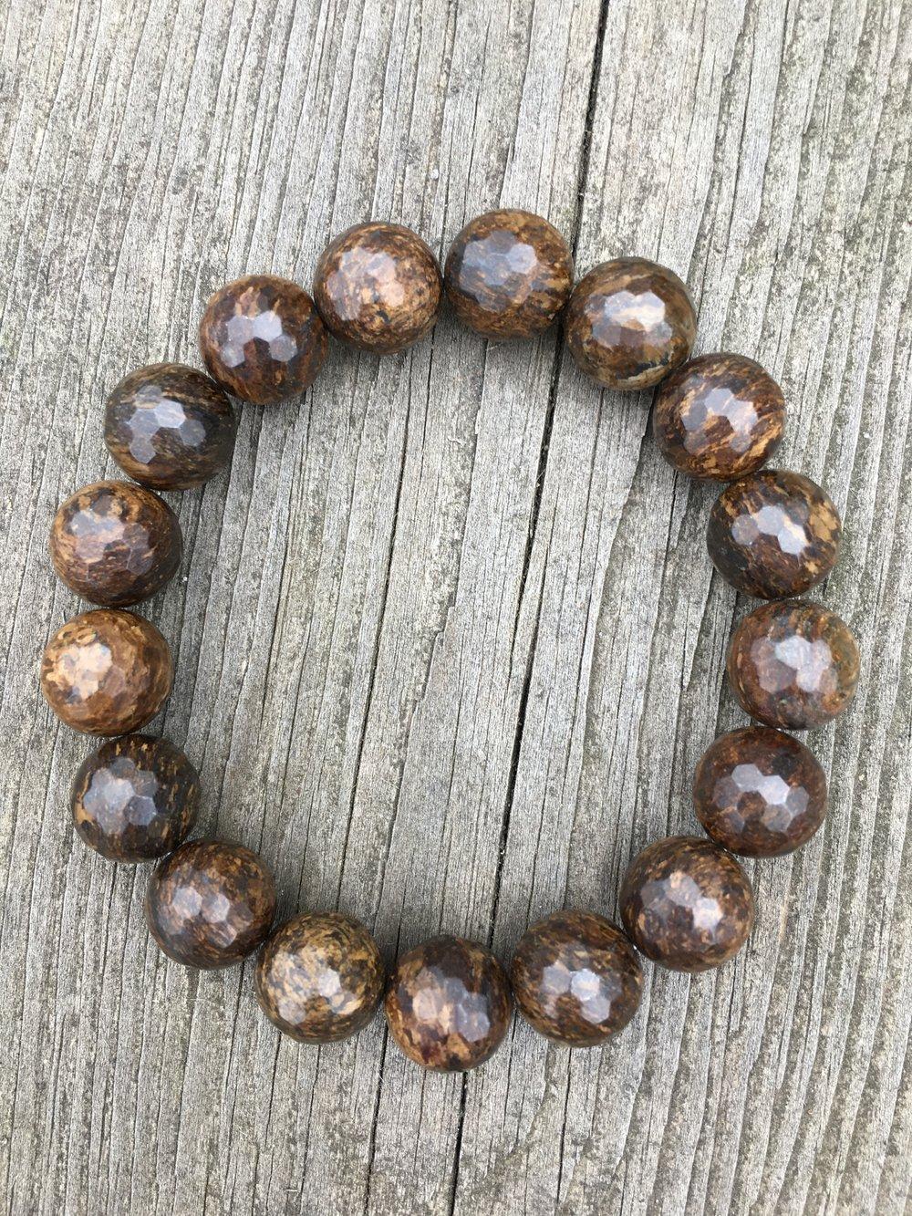 bronzite bracelet  $80
