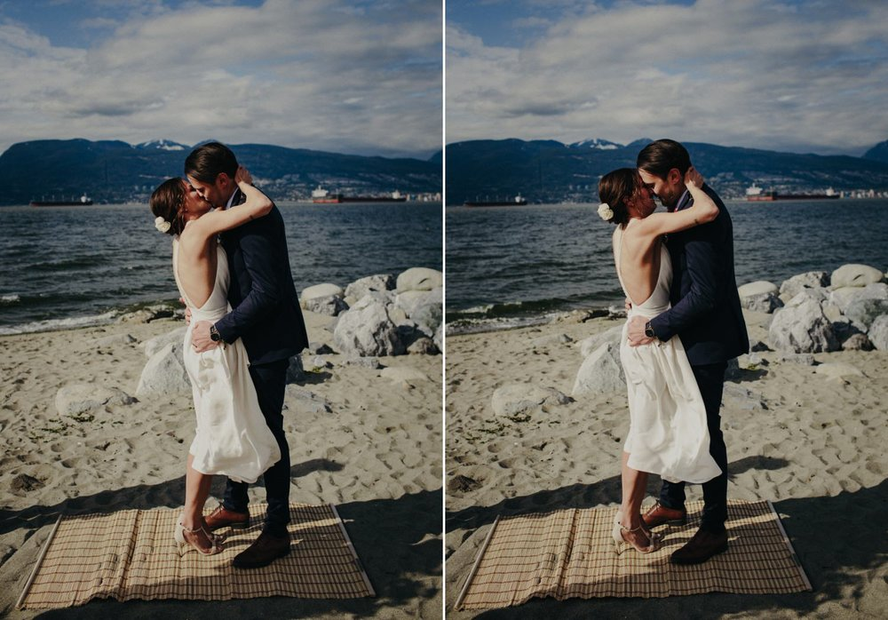 you may now kiss the bride in vancouver