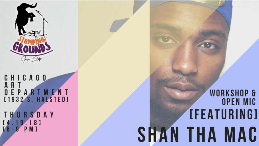 This month's feature performers -  Shan Tha Mac   $han Tha Mac is a hot, young, aspiring, unsigned artist hailing from the North Side of Chicago. As a singer/songwriter, rap artist, and clothing brand owner he's aspires to be recognized on many platforms. $han has a unique style and powerful message, and hopes to eventually be signed to a major label. $han's main inspirations comes from his own self determination but his musical influences are Lil Herb, Eminem, Drake, Usher, and Chris Brown. $han The Mac is apart of L.O.D Music Group, an unsigned entourage of hungry new artist producers and videographers. $han The Mac just dropped his second music project Euphoria please check it out on all musical platforms.  Eurphoria:  https://soundcloud.com/marshan-thesinger-hall/sets/euphoria