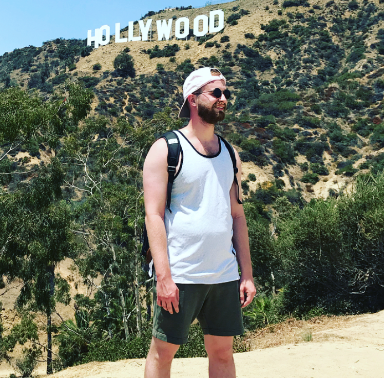 It took a lot for me to go on a hike…
