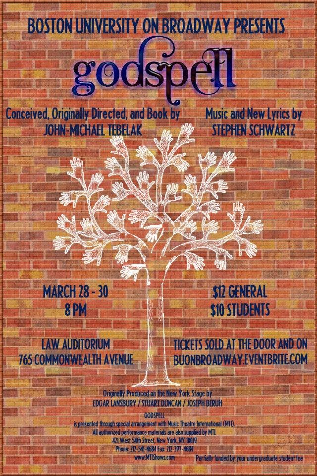 """""""Godspell""""  Spring 2013"""
