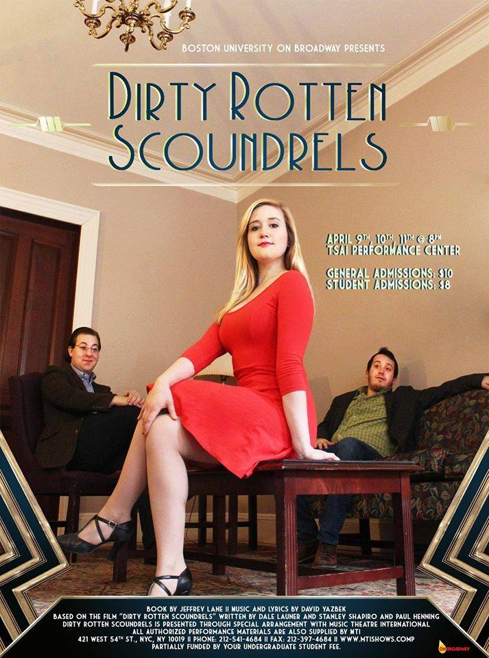 """Dirty Rotten Scoundrels""  Spring 2015"