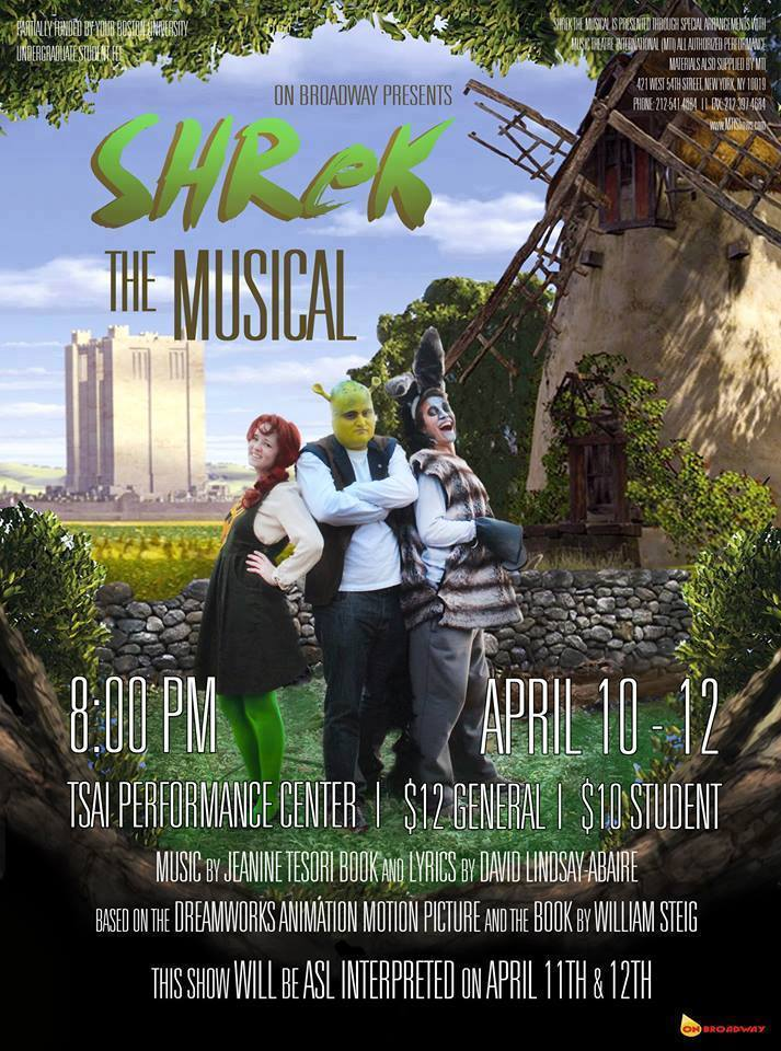 """Shrek The Musical""  Spring 2014"