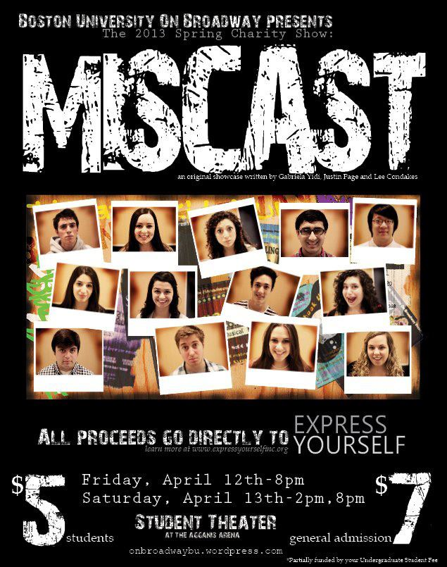 """Miscast""  Spring 2013"