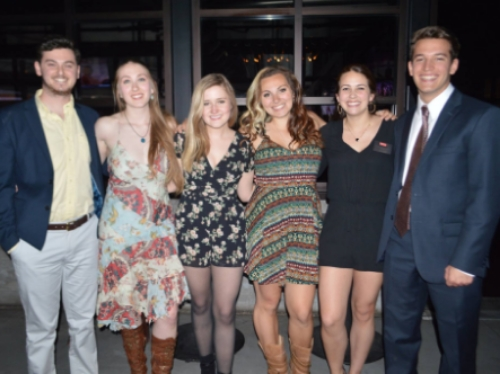 Andrew Velichansky, Katy Taylor, Caitlin Donohue, Annie Tillis, MaryKate Heagerty & Chris Kuiken