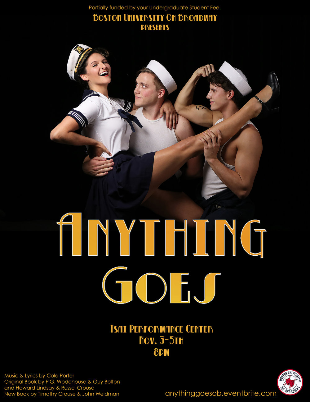 """Anything Goes"" Fall 2016"