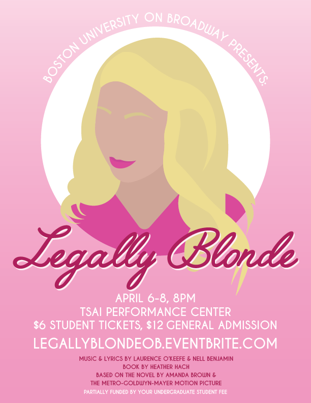"""Legally Blonde"" Spring 2017"