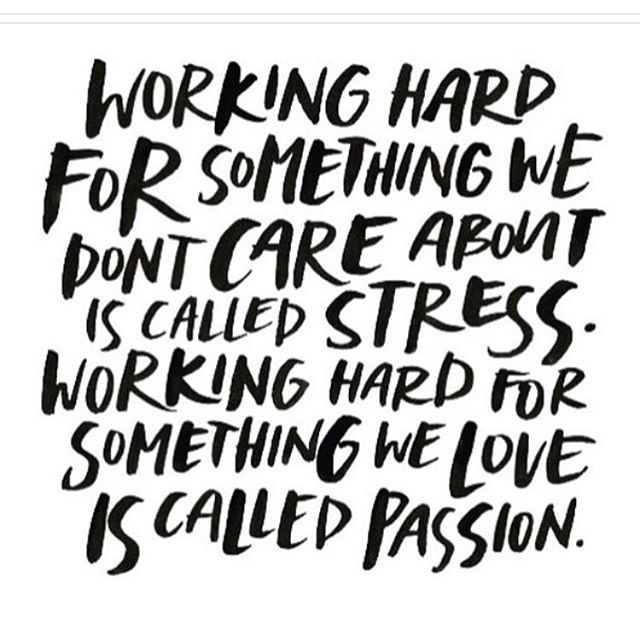 Passion. What are you willing to do? ❤️