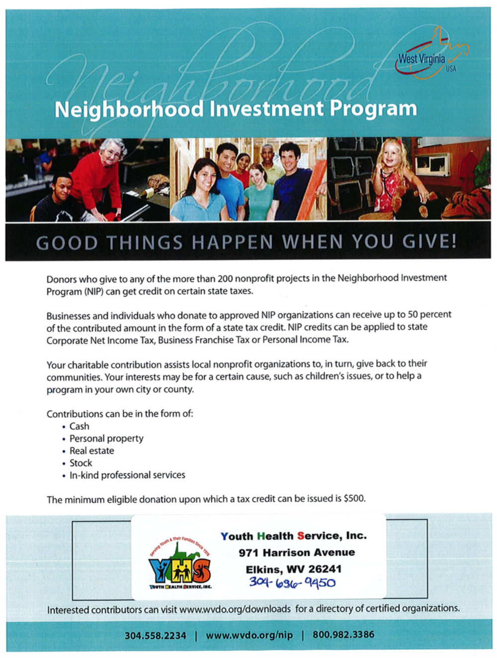 YHS Neighborhood Investment Program