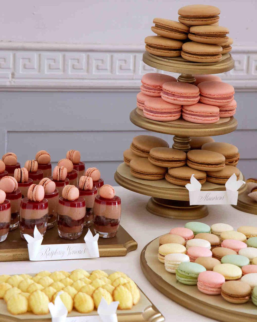DESSERTS |  Francois Payard ;  Canele by Celine ;  La Maison de Macaron