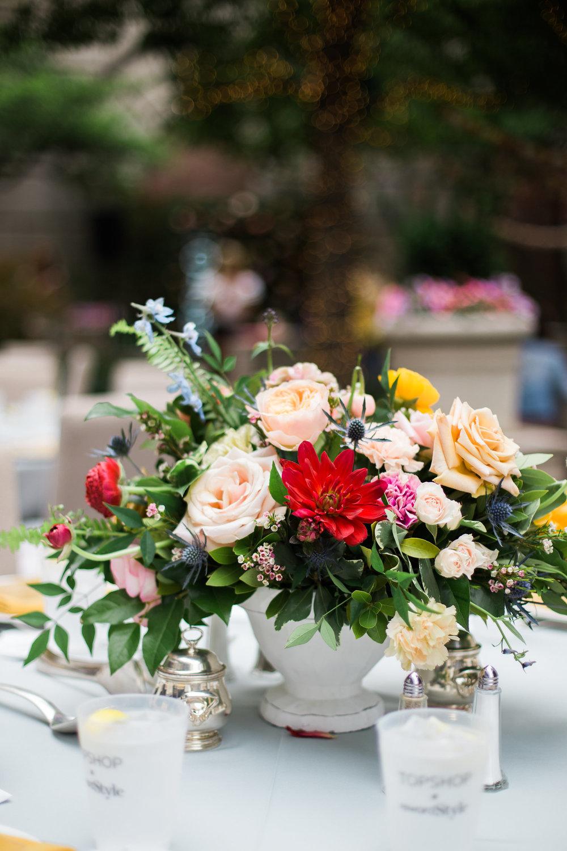 TOPSHOP + rewardStyle - Celebrate Dallas - Event Florist