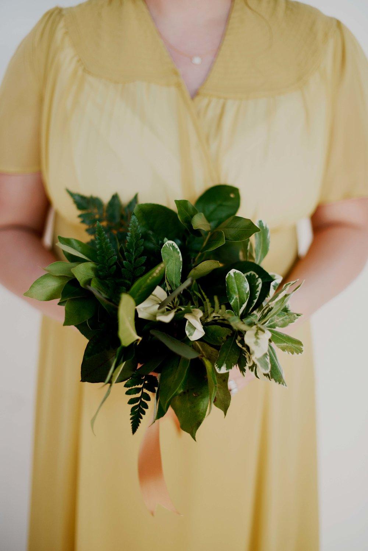 lush, organic, all greenery | $55