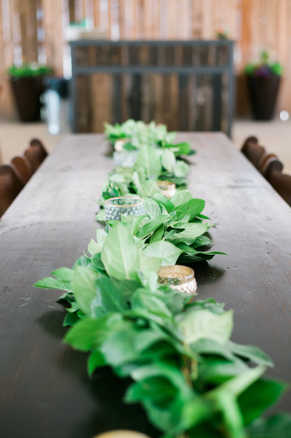 simple garland, greenery + textures only | $18 per foot