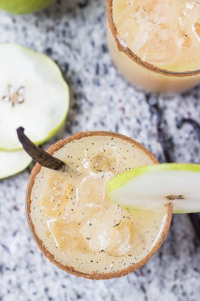 Vanilla Pear Margaritas