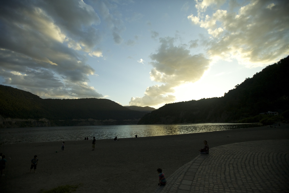 Finishing day 1 in San Martin de los Andes overlooking Lago Lacar. No joke, sun set at 9:30 pm.