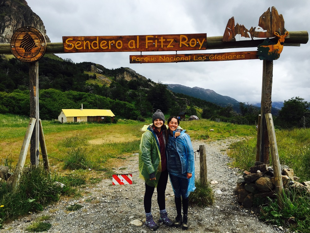 The wet ascent to Fitz Roy begins!