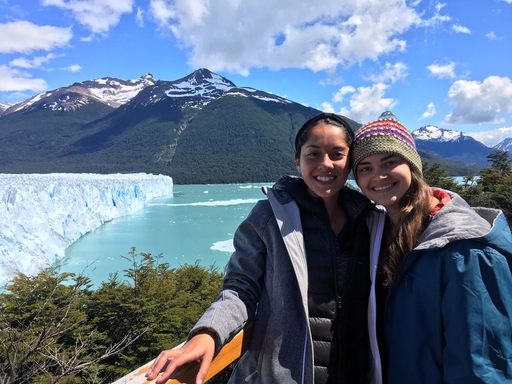 2 gals and a glacier
