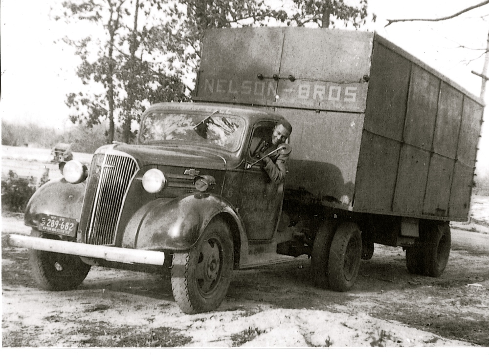 Nelson Bros Trucking in the 1940's