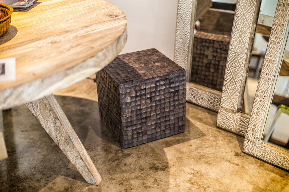 Coconut Square Cube