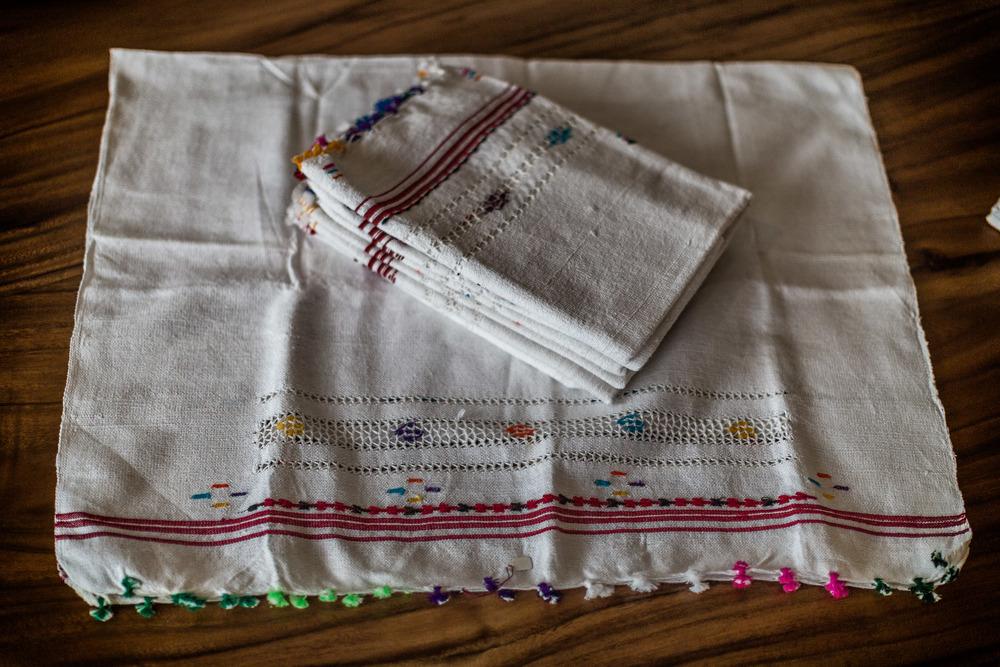 Fabrics table cover