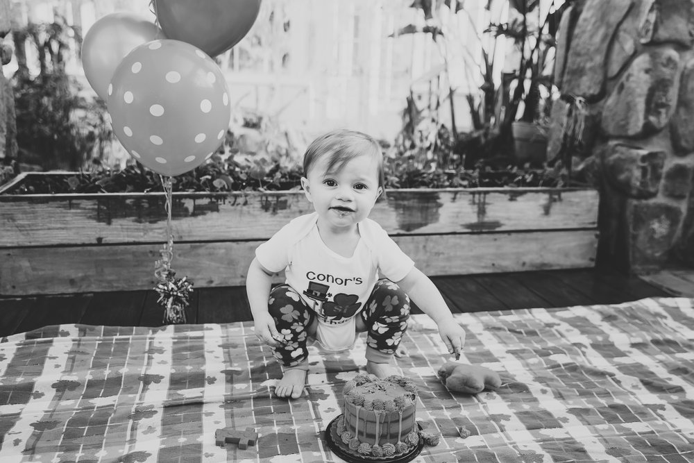 Endlessly Photography | First Birthday Cake Smash | Connor