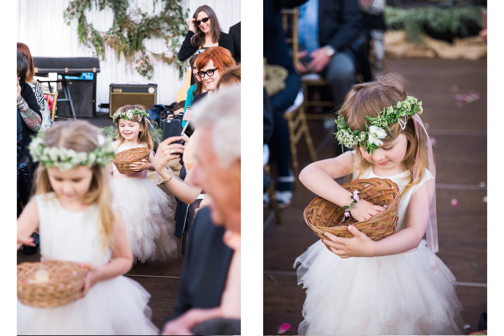 the cutest flower girls ever