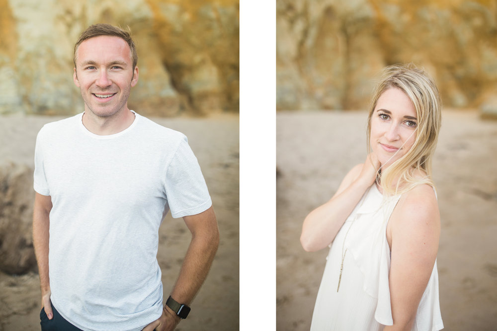 Cape Kiwanda engagement session valentia productions
