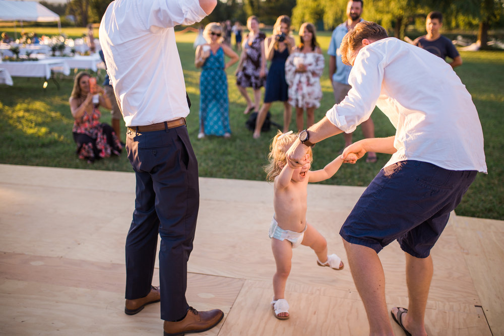 This crazy wedding guest who couldn't keep her clothes on once they opened up the dance floor