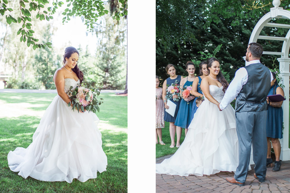 Wedding dress advice Valentia Productions Oregon wedding photographer