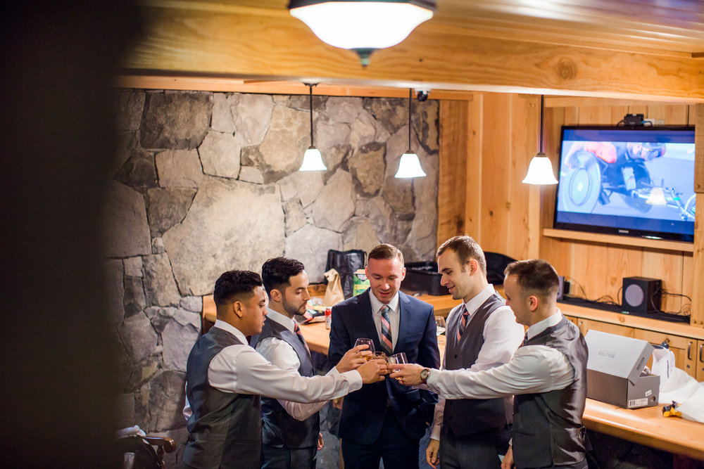 Ridgefield, WA wedding photographer, summit grove lodge weddings, groomsmen wedding photos