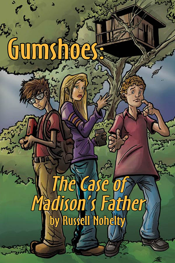Click here for a preview of Gumshoes. It's CSI for kids without the horrific violence!