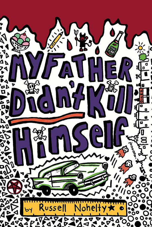 Click here for a preview of My Father Didn't Kill Himself, a YA mystery about loss, grief, death, and junk.