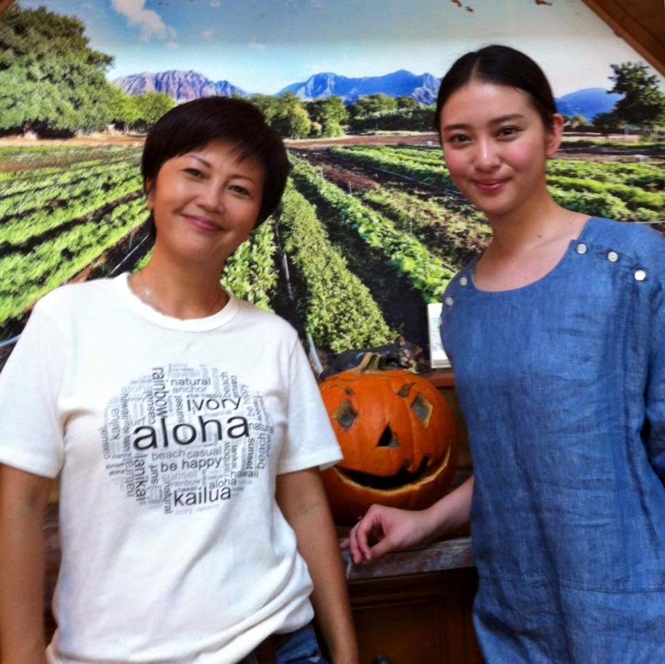 とても聡明な武井咲さんの番組に、ゲスト出演させて頂いた時の記念写真。