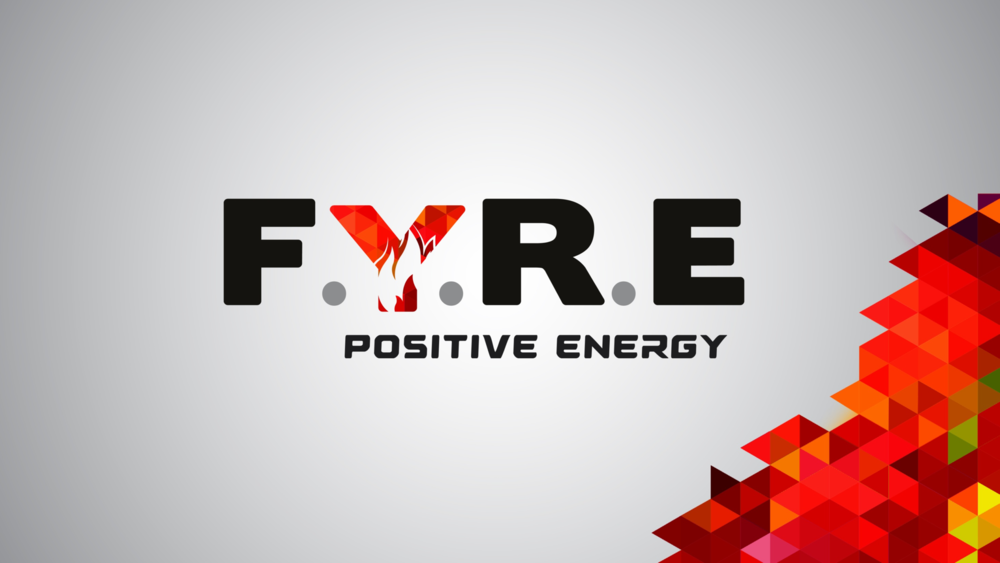 FYRE Energy drink brand creation