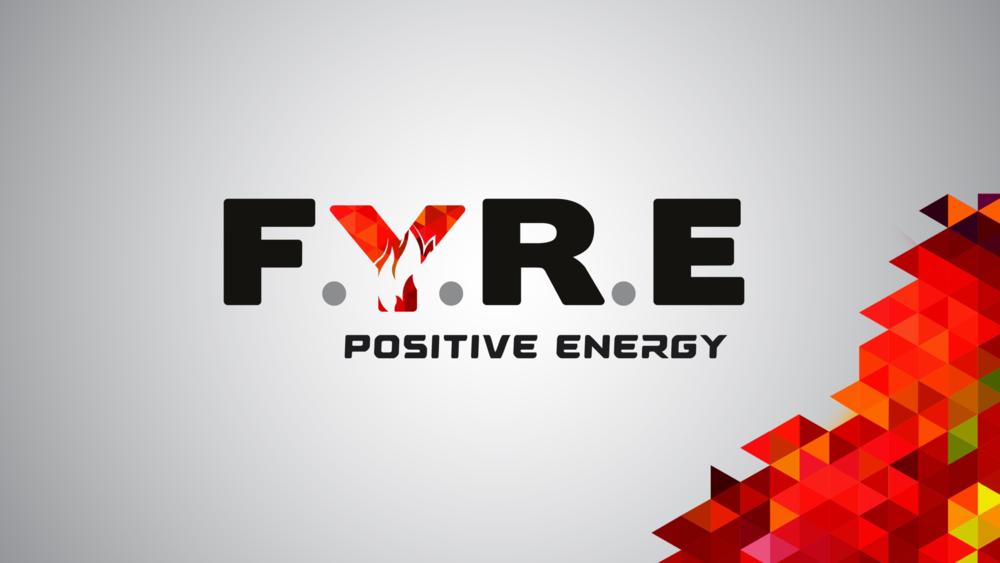 FYRE Energy drink brand creation