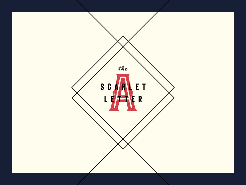 The Scarlett Letter 100 Days Project Marketing Collateral Design