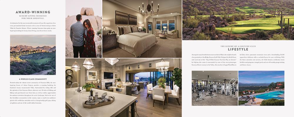 Web design and branding for Adero Villas by Jennifer Bianchi